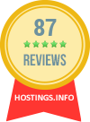 Customers' reviews on Hostings.info